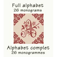 ABC02 - Full alphabet - 26 monograms