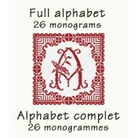 ABC03 - Full alphabet - 26 monograms